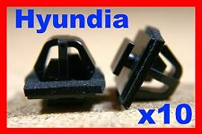 For HYUNDIA 10 door card fascia panel lining trim fastener clip scratch strip