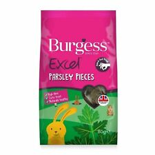 Burgess Excel Parsley Baked Treats for Small Pets Rabbit Guinea Pig 80g Healthy