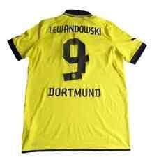 Borussia Dortmund 2012 / 2013  Home Kit Jersey Shirt Spieltrikot #9 Lewandowski