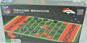 Denver Broncos Checkers NFL by Masterpieces