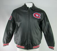 Montreal Canadiens NHL G-III Men's Faux Leather Jacket