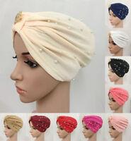 Islamic Women Hijab Chemo Beanie Cap Indian Turban Hat Head Wrap Scarf Muslim