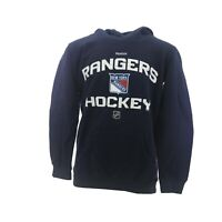 New York Rangers Official NHL Apparel Kids Youth Size Hooded Sweatshirt New Tags