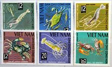 VIETNAM 1965 387-92 Meerestkrebse Crabs Krebse Garnele Languste Krabbe MNH
