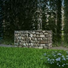 Vidaxl Gabbione in rete metallica acciaio 100x50x50cm Canestro parete giardino