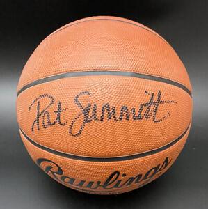 Coach Pat Summitt SIGNED Rawlings NCAA Basketball Lady Vols PSA/DNA AUTOGRAPHED