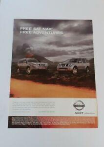 Nissan X-Trail SVE & Pathfinder SVE Advert from 2006 - Original Ad Advertisement