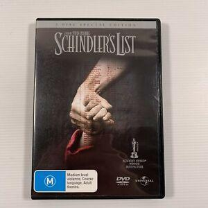 Schindlers List (DVD 2006 2 disc) 1993 movie Liam Neeson Region 4