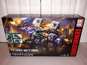 Trypticon G1 Titans Return Transformers SEALED MISP! Hasbro 2016 Full-Tilt Necro
