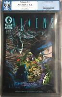 Aliens #1 1st Printing PGX 9.8 Dark Horse Comics Movie 1st Appearance In Comics