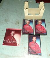 READERS DIGEST Lot of 3 Cassette Harry Belafonte Factory Sealed Set