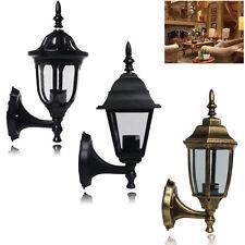 LED Wall Lantern Outside Light Security Exterior Lamp/ 3W/5W/7W/9W Globe Bulb UK