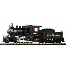 PIKO D&RGW Mogul Steam Loco No.216 & Tender (Analogue-Smoke) G Gauge 38220