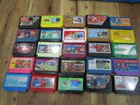 Nintendo Famicom Lot of 20 piece Challenger NES T420