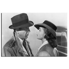 Casablanca Movie Poster Unframed Canvas Painting Wall Art Pictures 24X36inch
