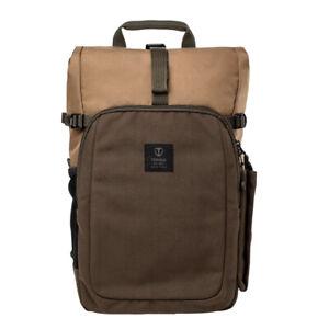 Tenba FULTON 14L BACKPACK (Tan/Olive) > Timeless, vintage style, modern comfort!