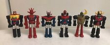 Lot 6 Vintage 1970's Shogun Warrior Figures 3""