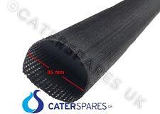 35mm Nero Resistenti al Calore Sleeving wire del cavo ad alta temperatura per Metro 500oC