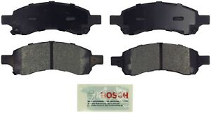 For Buick Enclave GMC Arcadia Chevy Travers Front Blue Disc Brake Pads BoschA