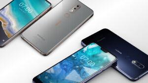 "Nokia 7.1 (TA-1095) Dual SIM Unlocked Smartphone 5.84"" 32GB 12MP Dual Camera"