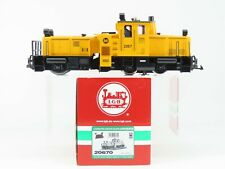 G Scale LGB 20670 Yellow Track Cleaning Diesel Locomotive #2067 - DCC Equipped