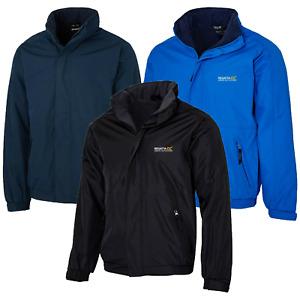 Regatta Dover Mens Hooded Fleece Lined Waterproof Jacket Rain Coat  RRP £70