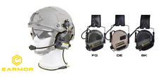 Earmor OPSMEN cuffie M32H Tactical Communication Hearing Protector FAST nere bk