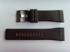 Diesel original LW pulsera de cuero dz1113 uhrband Braun 29 mm watch Strap