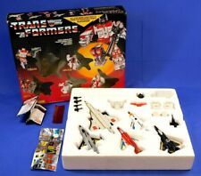 TRANSFORMERS G1 AERIALBOTS SUPERION 1986 COMPLETE WITH BOX GIFTSET