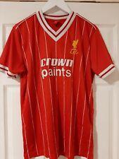 Liverpool FC 1982-84 Home Retro Football Shirt L