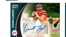 Garrett Fugate Central Missouri signed autograph 2017 HIT Draft rookie card
