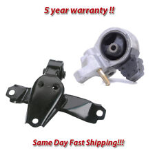 K0479 Front Right Motor/&Trans Mount 2PCS For 92-99 Toyota Paseo 1.5L AUTO Trans