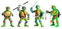 12cm Junge Mutant Ninja Turtles TMNT Action-Figuren-Sammlung Spielzeug  4 Stück