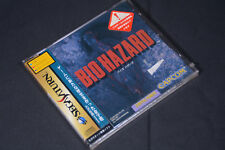 New  Capcom biohazard SEGA SATURN JAPANESE IMPORT