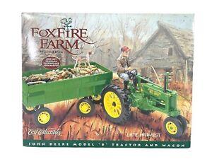 #5341 Ertl John Deere FoxFire Farm Model B w/Tractor ~ Sealed 1:16