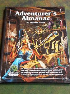 The Adventurer's Almanac - Goodman Games Sourcebook RPG Game Book New