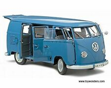 1:12 Sunstar VW BUS t1 - 1957 combi-bleu-avec certificat