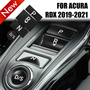 Central Gear Shift Button Panel Thin film Protect Cover For Acura RDX 2019-2021