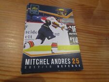 2017-18 VERNON VIPERS MITCHEL ANDRES BCHL SINGLE PLAYER CARD