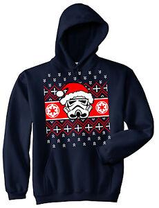 Xmas Hoodie Stormtrooper Santa Ugly Sweater Party Christmas Helmet Xmas S-5XL
