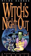 Witch's Night Out VHS witch halloween classic movie gilda radner