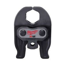 Press Tool Jaw 1 1/4 Inch Steel Accessories Parts Power Tools Durable Pipe Black