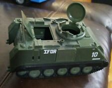 Army Tank Vehicle Green BlueBox 2005 Plastic Play Kids