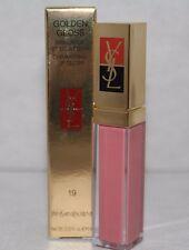 YSL Yves Saint Laurent GOLDEN GLOSS GOLDEN PINK LIPGLOSS #19 *SALE