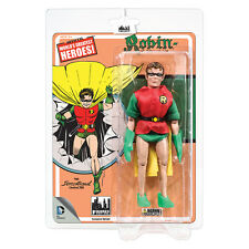 DC Comics Mego Style 8 Inch Figures First Apperances Series: Robin (Yellow Cape)