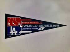 2018 MLB World Series Dueling Boston Red Sox Los Angeles Dodgers Pennant Classic