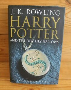 Harry Potter and the Deathly Hallows 2007 - JK Rowling -1st First Edition