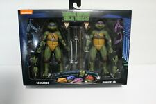 NECA TMNT Movie Ninja Turtles Walmart 2020 Leonardo Donatello Missing 2 Bandanas