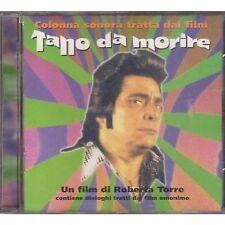 NINO D'ANGELO - Tano da morire - CD OST 1997 NEAR MINT CONDITION