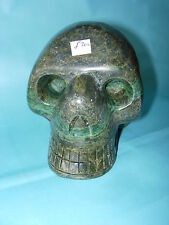 Crystal Skull  Verdite number 1 the largest we have